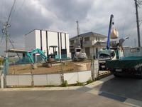 松阪市鎌田町K様邸新築工事 地盤改良