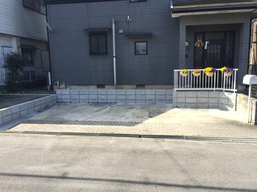 松阪市 Y様邸 駐車場拡幅工事