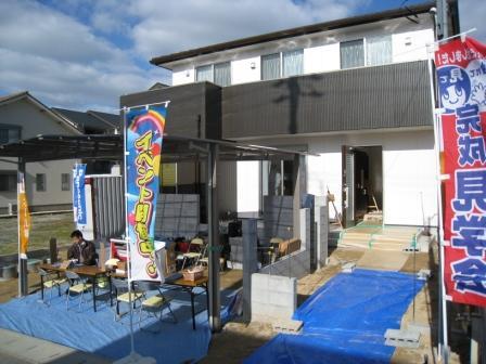 吉田様邸、新築完成見学会の様子