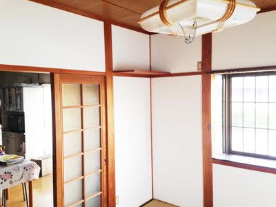 松阪市 I様邸 和室クロス工事
