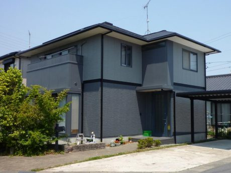 松阪市小津町N様邸 外装リフォーム・太陽光・オール電化工事