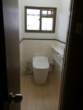 松阪市嬉野 N様邸 トイレ入替え工事