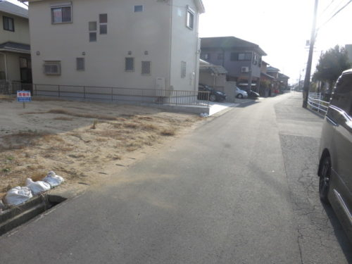 売土地:松阪市新松ヶ崎町!!松ヶ崎駅から徒歩8分です