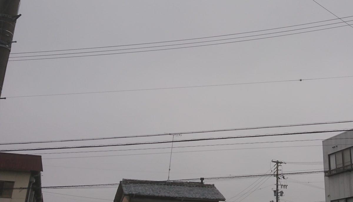 雨漏り調査。天気に恵まれず・・・