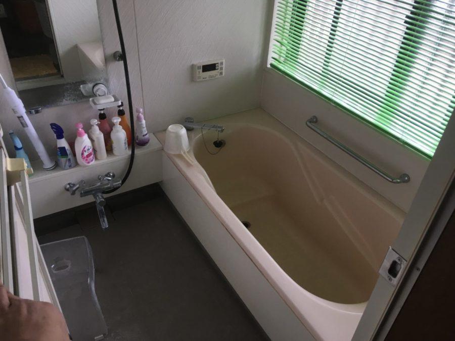 浴室と洗面台の取替工事!